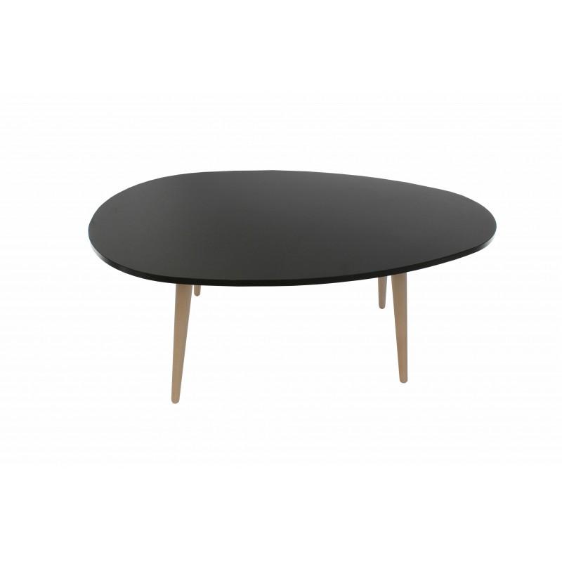 """Τραπέζι σαλονιού """"King"""" σε χρώμα γραφίτης 98x60x39"""