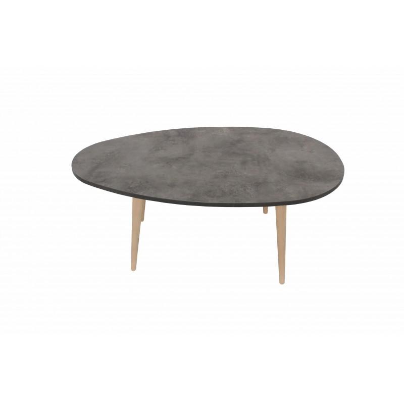 """Τραπέζι σαλονιού """"King"""" σε χρώμα γκρι 98x60x39"""