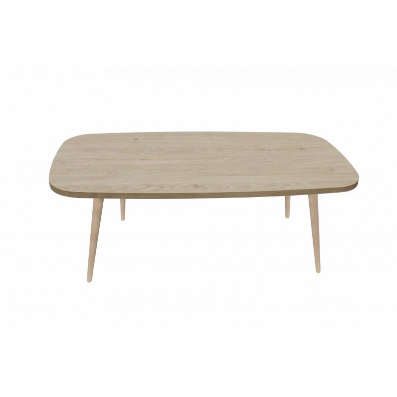 """Τραπέζι σαλονιού """"SOFIA"""" σε χρώμα δρυς 120x60x44"""