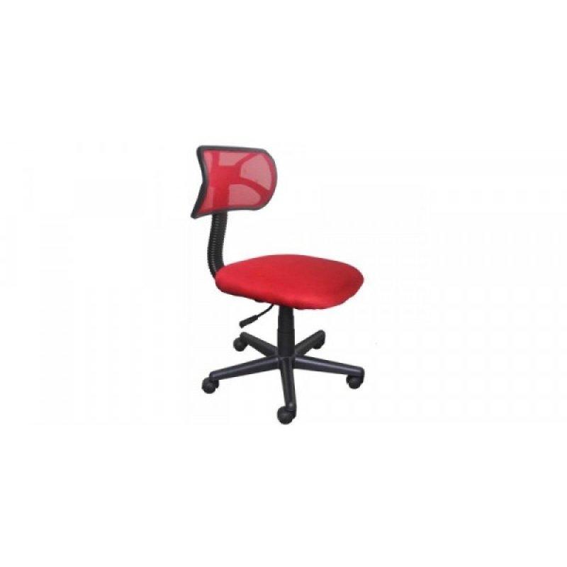 Καρέκλα γραφείου εργασίας σε χρώμα κόκκινο 45x58x80/90