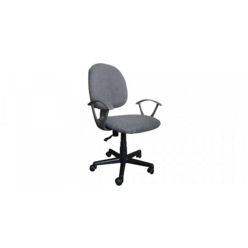 Πολυθρόνα γραφείου εργασίας σε χρώμα γκρι 55x58x80/90