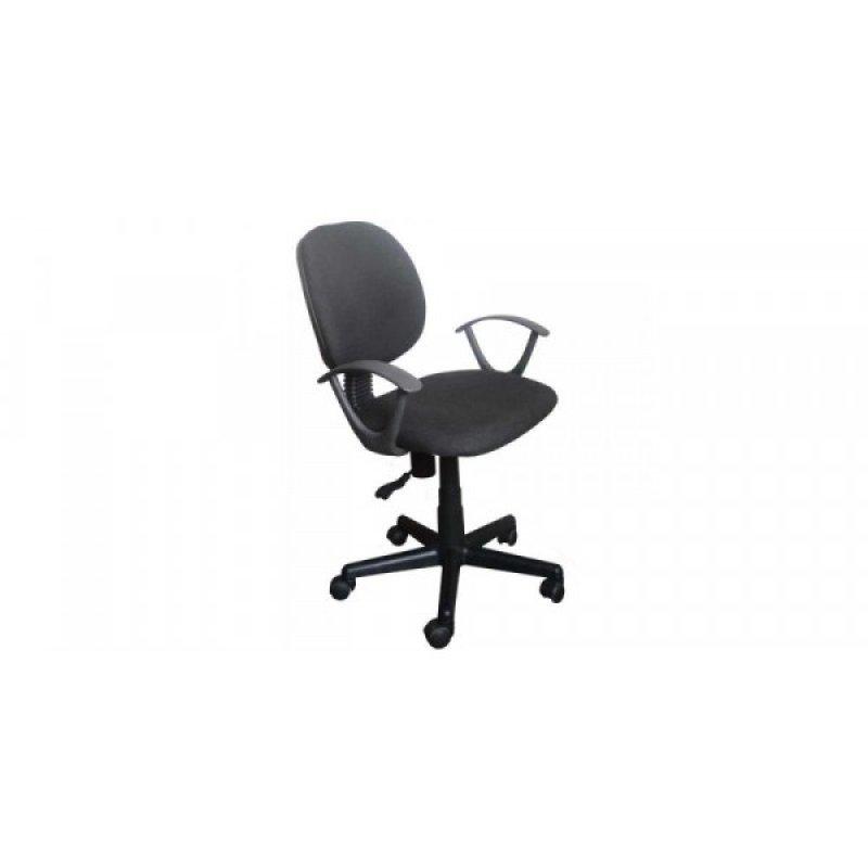 Πολυθρόνα γραφείου εργασίας σε χρώμα μαύρο 55x58x80/90