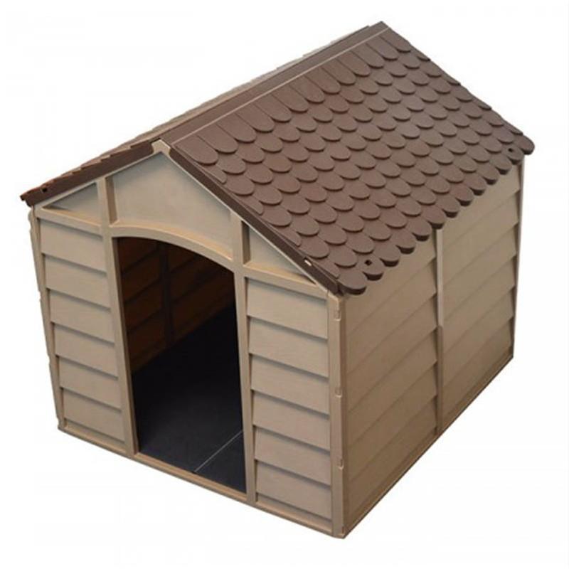 """Σπίτι σκύλου """"SPIKE"""" σε χρώμα μόκα-σοκολά 78x85x81"""