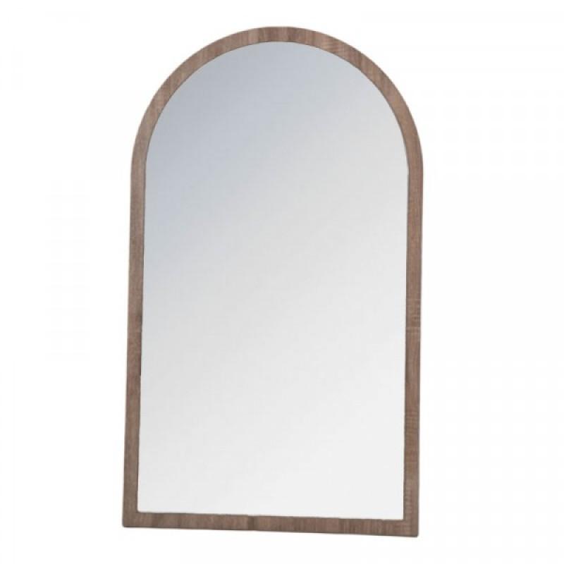 Καθρέπτης σε χρώμα γκρι-σταχτί 60x102