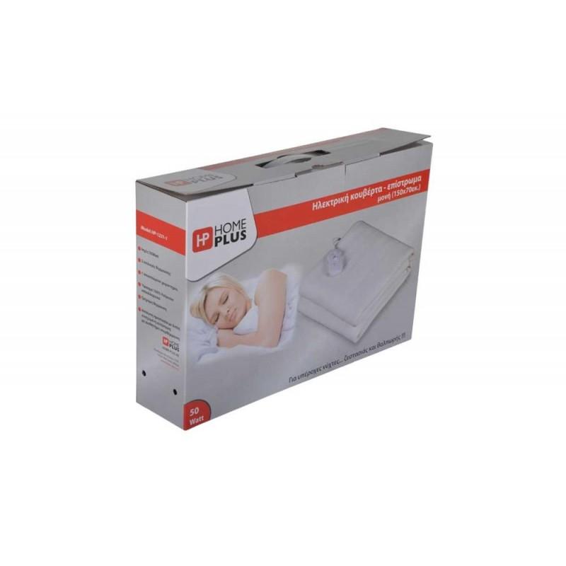 Ηλεκτρικό θερμαινόμενο υπόστρωμα διπλό polyester 160x140