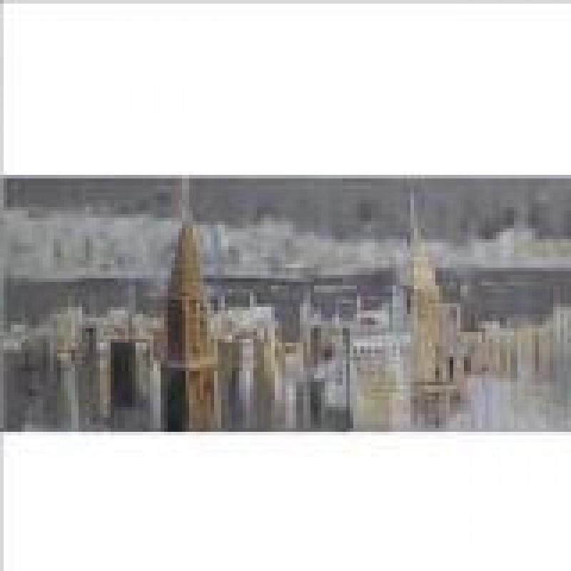 """Πίνακας από καμβά με σχέδιο """"buildings"""" 60x120 HOME-PLUS 01.09.0102"""