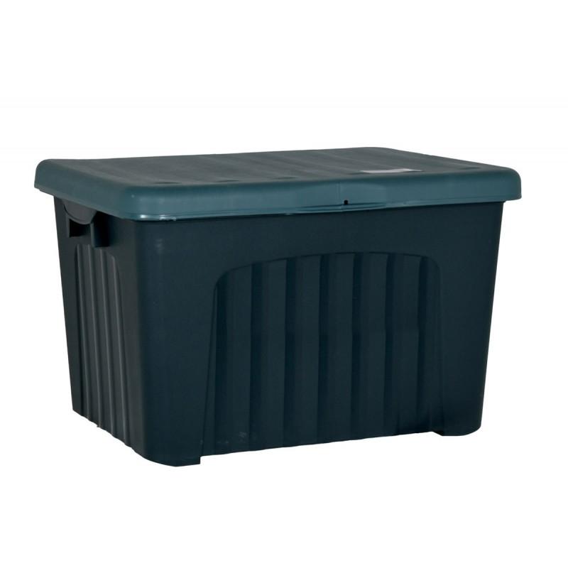 """Μπαούλο αποθήκευσης """"PANDORINO"""" 155L σε χρώμα πράσινο 80x58x51"""