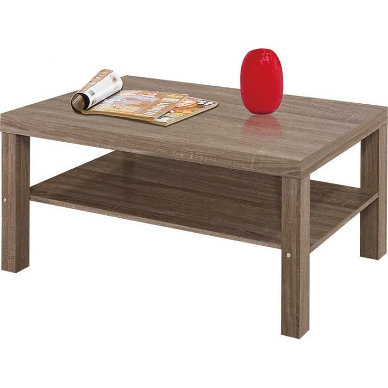 Τραπέζι σαλονιού σε χρώμα σταχτί 90x55x45