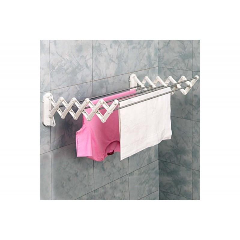 """Απλώστρα """"SKATTO 70"""" αλουμινίου πτυσσόμενη μπάνιου 15x74"""