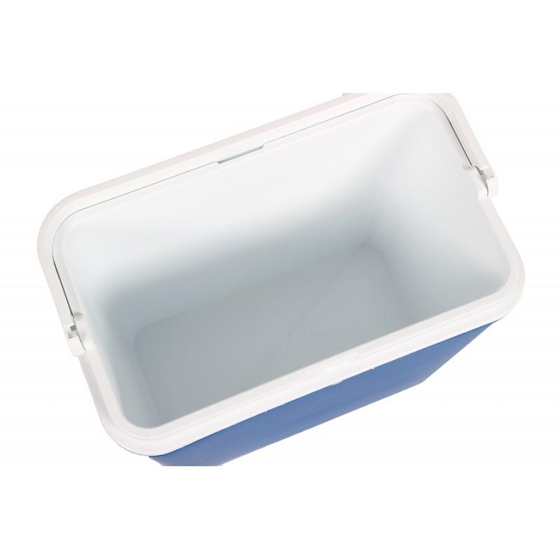 Φορητό ισοθερμικό ψυγείο 30lit. σε χρώμα μπλε-λευκό 39x40x39