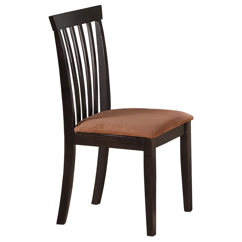 """Καρέκλα """"TATIANA"""" από μασιφ ξύλο σε χρώμα βέγγε 42x41x94"""