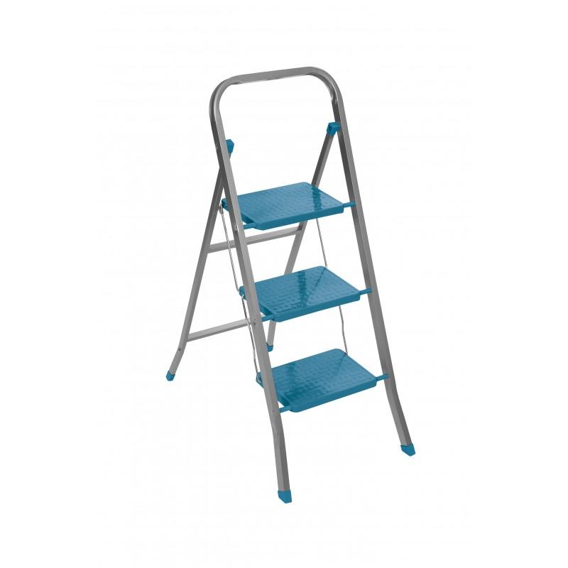 """Σκαλοκάθισμα """"TESLA 30"""" μεταλλικό σε χρώμα μπλε 47x115"""