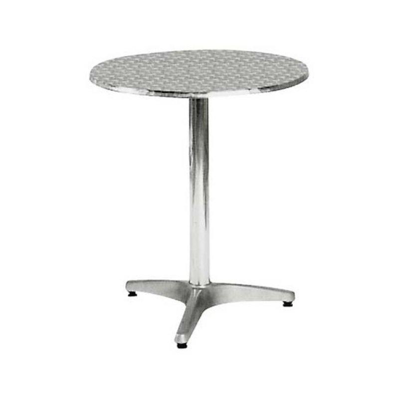 """Τραπέζι """"PALMA"""" σρτογγυλό αλουμινίου 60x70"""