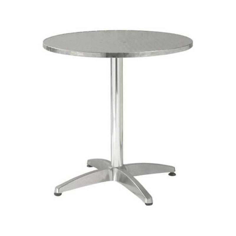 """Τραπέζι """"PALMA"""" στρογγυλό αλουμινίου 70x70"""