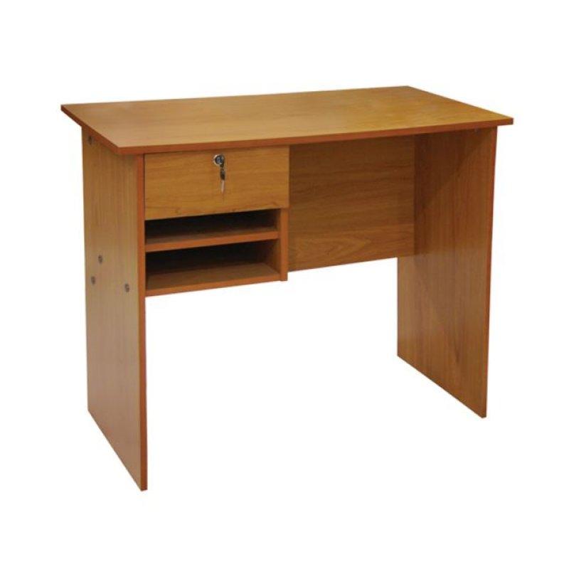 Γραφείο με 1 συρτάρι σε χρώμα κερασί 90x45x73