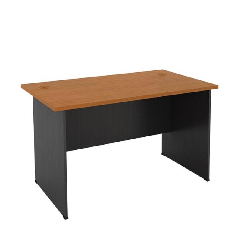 Γραφείο σε χρώμα σκούρο γκρι-κερασί 120x70x74