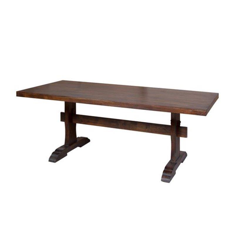 """Τραπέζι """"WESTERN """" σε κσρυδί χρώμα 200x100x77"""