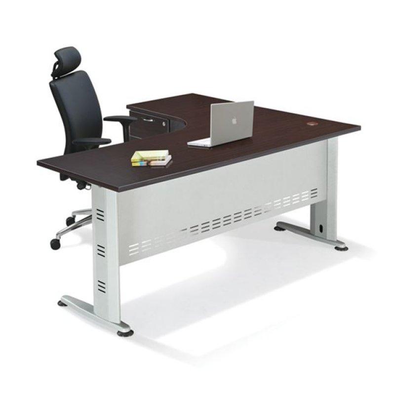 """Γραφείο """"SUPERIOR"""" αριστερή γωνία σε χρώμα βέγγε 150x70x75"""