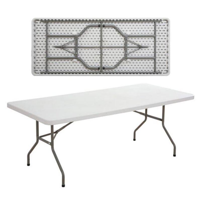"""Τραπέζι συνεδρίου """"BLOW"""" πτυσσόμενο σε λευκό χρώμα 183x76x74"""