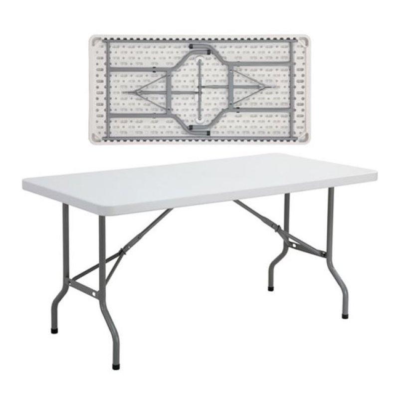 """Τραπέζι συνεδρίου """"BLOW"""" πτυσσόμενο σε λευκό χρώμα 152x76x74"""