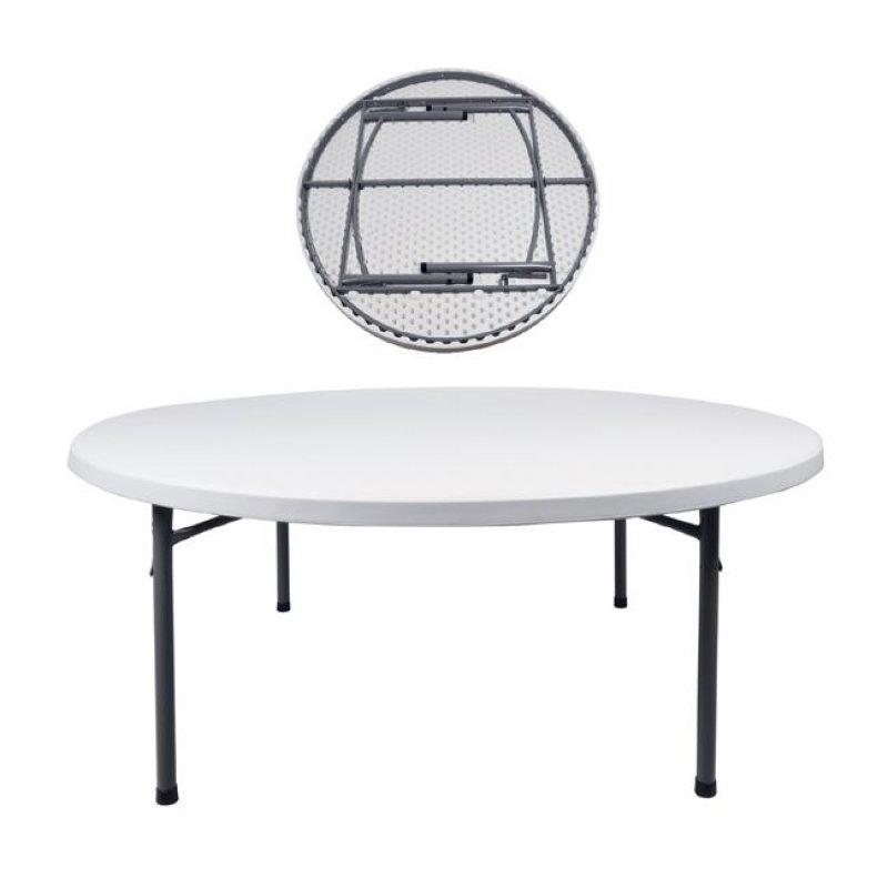 """Τραπέζι συνεδρίου """"BLOW"""" πτυσσόμενο σε λευκό χρώμα 180x74"""