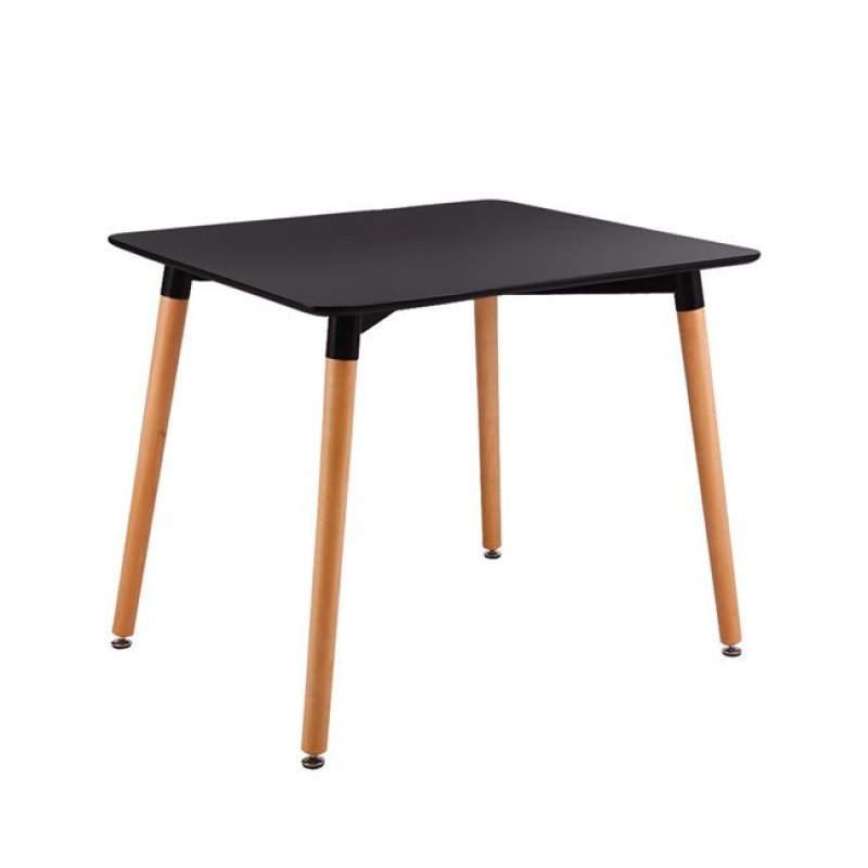 """Τραπέζι """"ART"""" σε χρώμα μαύρο 80x80x73"""