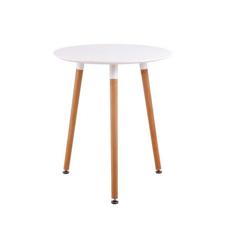 """Τραπέζι """"ART"""" σε χρώμα λευκό 60x68"""