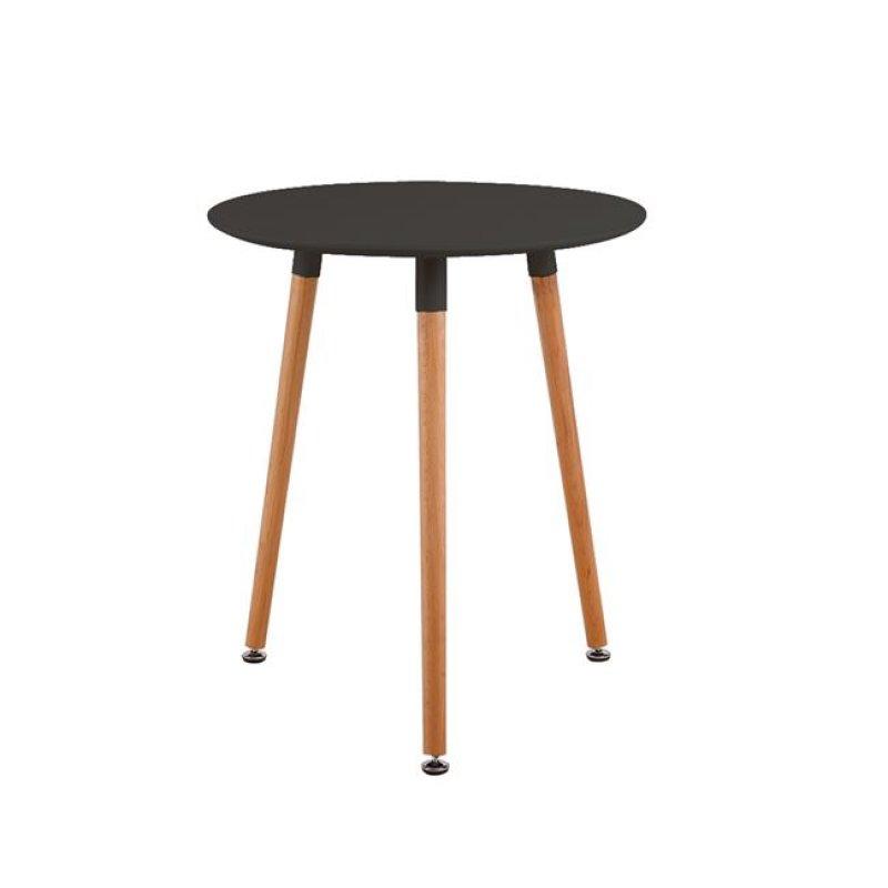 """Τραπέζι """"ART"""" σε χρώμα μαύρο 60x68"""