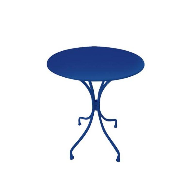 """Τραπέζι """"PARK"""" μεταλλικό σε χρώμα μπλε 60x70"""