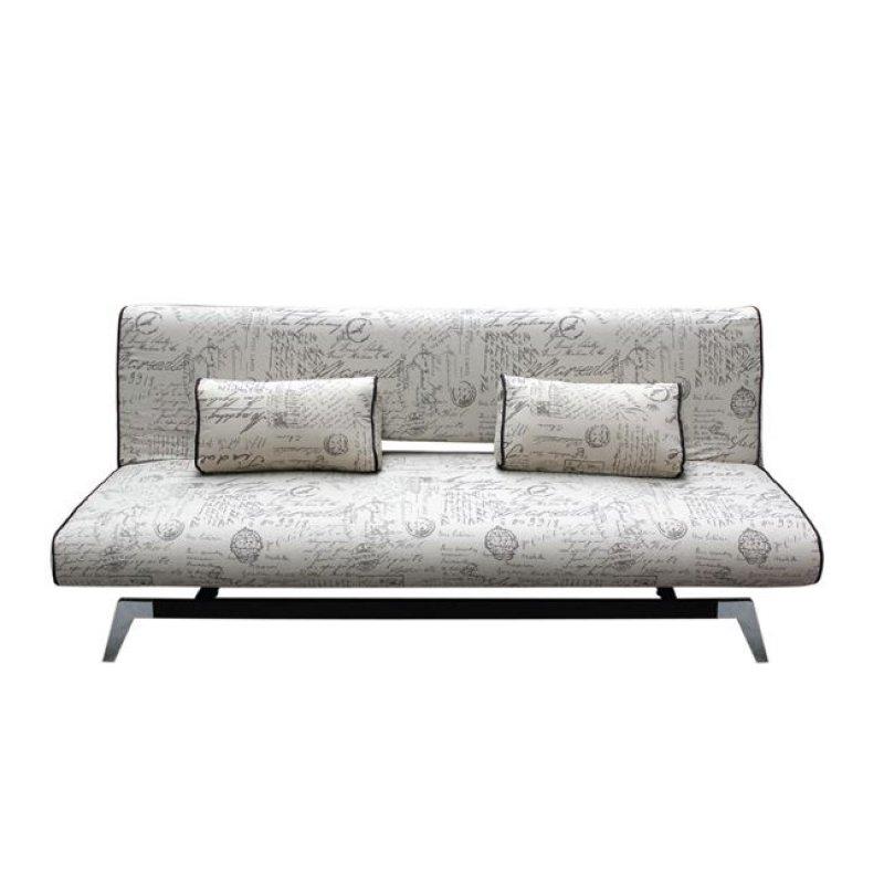 """Καναπές-κρεβάτι """"FELIX"""" τριθέσιος  από ύφασμα σε χρώμα εκρού deco 191x91x79"""