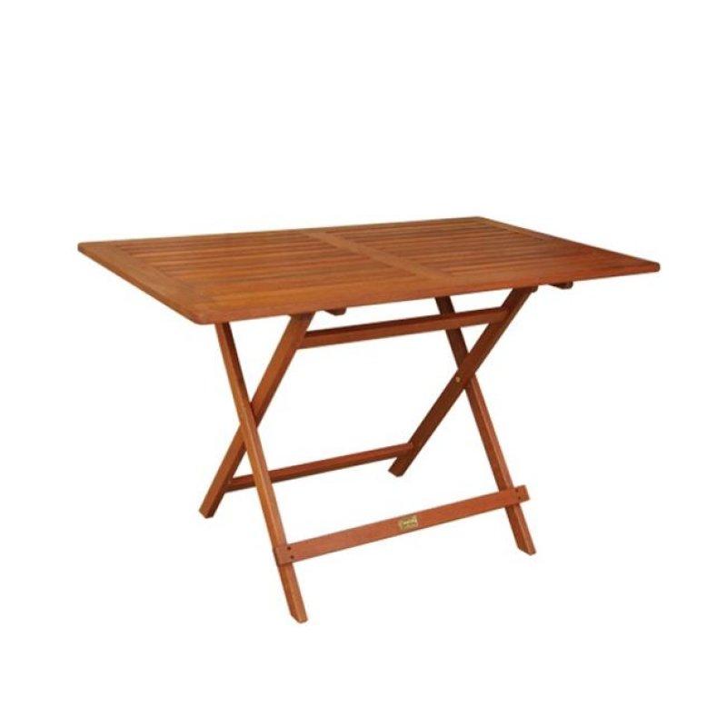 """Τραπέζι """"EASY-K"""" πτυσσόμενο σε χρώμα καρυδί 120x70x71"""
