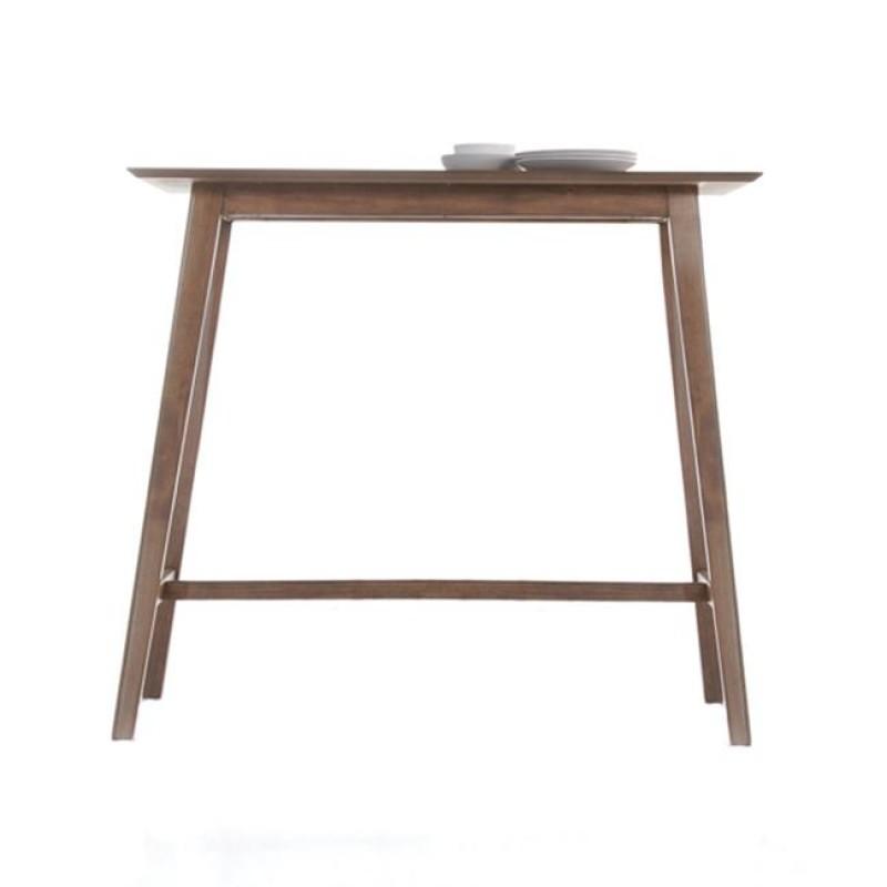 """Τραπέζι μπαρ """"ENZO"""" σε καρυδί χρώμα 120x45x107"""