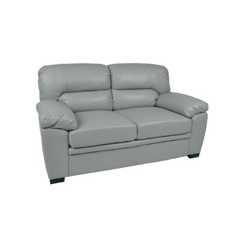 """Καναπές """"IMPERIAL"""" διθέσιος bonded leather-pu σε γκρι 165x89x89"""