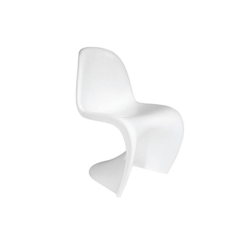 """Καρέκλα """"BLEND"""" πολυπροπυλενίου χρώματος λευκό 50x58x85"""