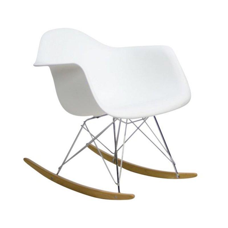 """Πολυθρόνα """"ALEA Rocky"""" pp σε χρώμα λευκό 64x69x70"""