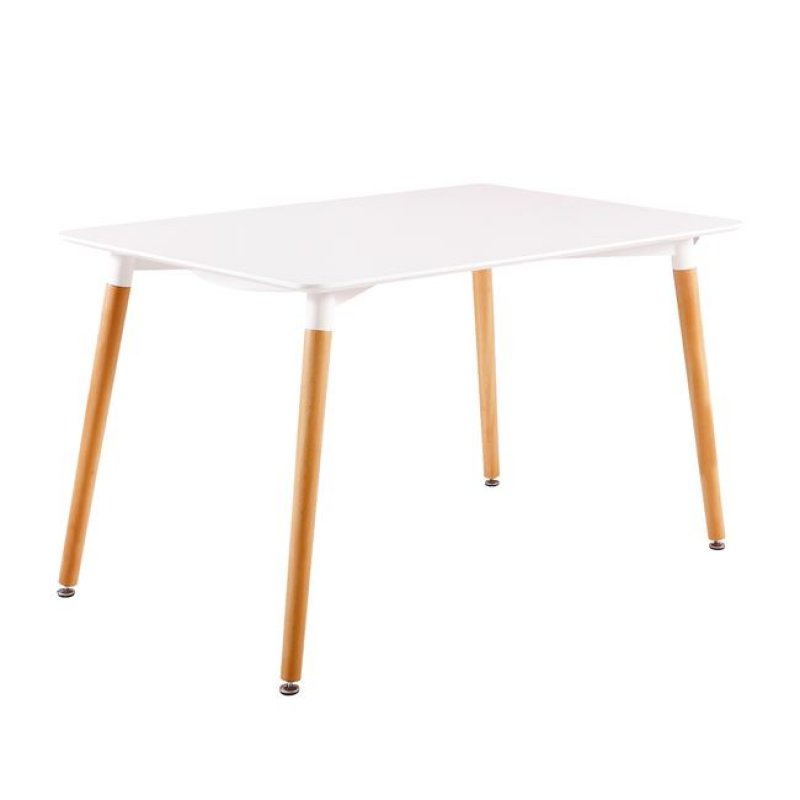 """Τραπέζι """"ART"""" σε χρώμα  λευκό 160x90x73"""