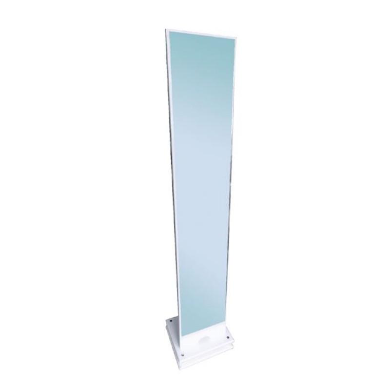 """Καθρέπτης δαπέδου """"KELVIN"""" σε χρώμα λευκό 35x35x173"""