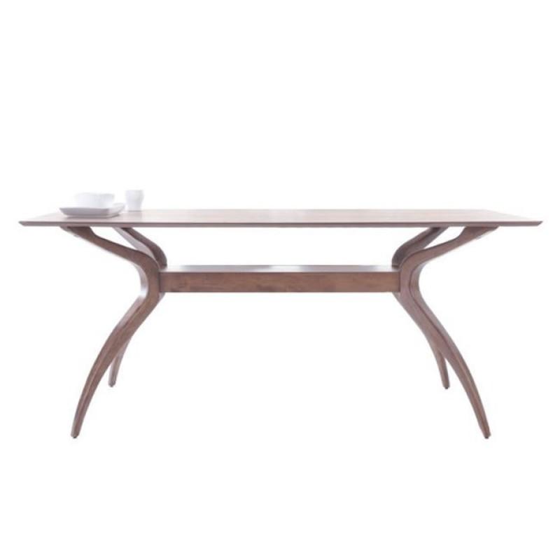 """Τραπέζι """"AROMA"""" σε καρυδί χρώμα 180x95x76"""
