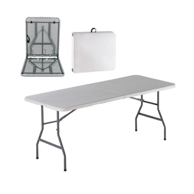 """Τραπέζι συνεδρίου """"BLOW-R"""" πτυσσόμενο σε λευκό χρώμα 180x74x74"""