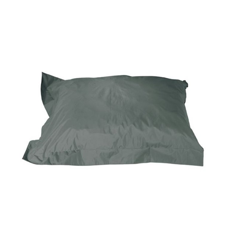 """Μαξιλάρι πουφ """"REPLAY"""" υφασμάτινο σε ανθρακί χρώμα 145x125"""