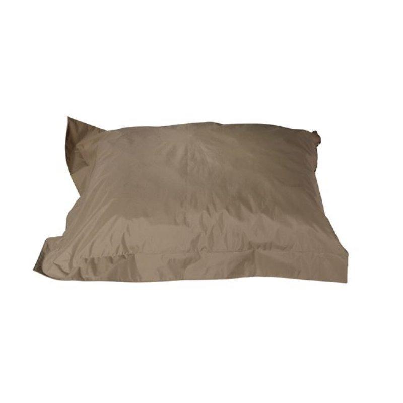 """Μαξιλάρι πουφ """"REPLAY"""" υφασμάτινο σε καφέ χρώμα 145x125"""