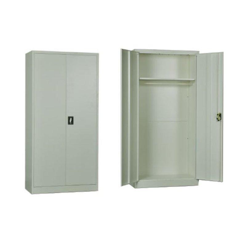 Ντουλάπα μεταλλική σε χρώμα λευκό 90x45x185