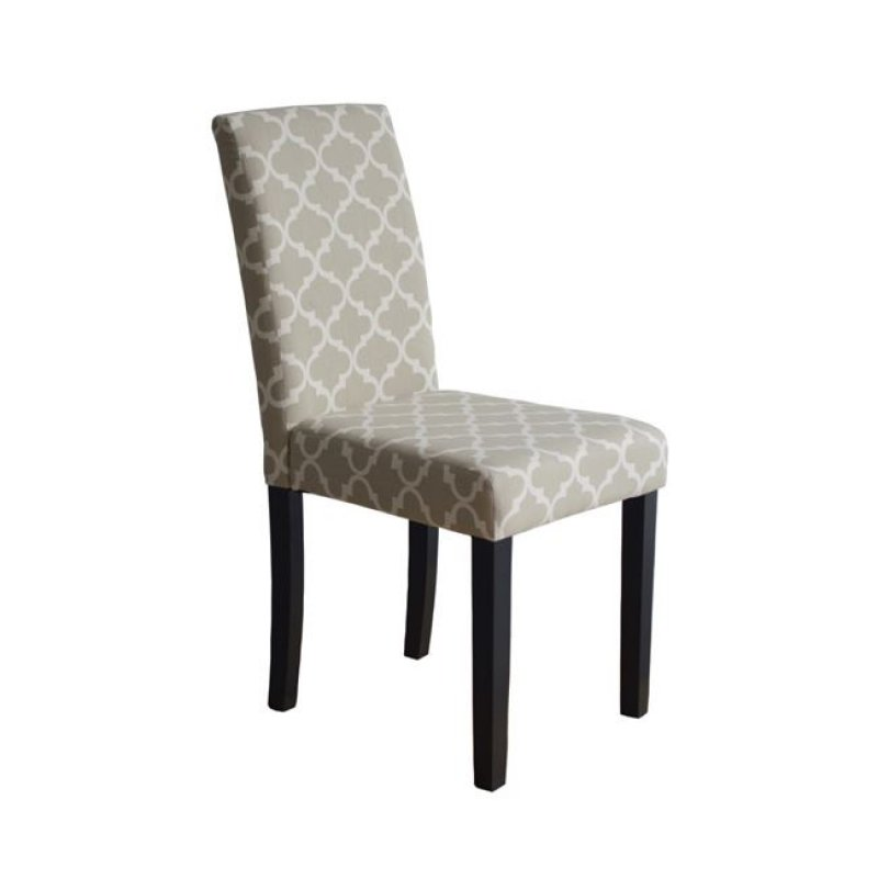 """Καρέκλα """"MALEVA-L"""" υφασμάτινη σε χρώμα deco μπεζ 43x57x93"""