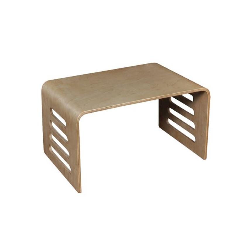 """Τραπέζι σαλονιού """"HAMILTON"""" από μασιφ σημύδα 60x40x35"""