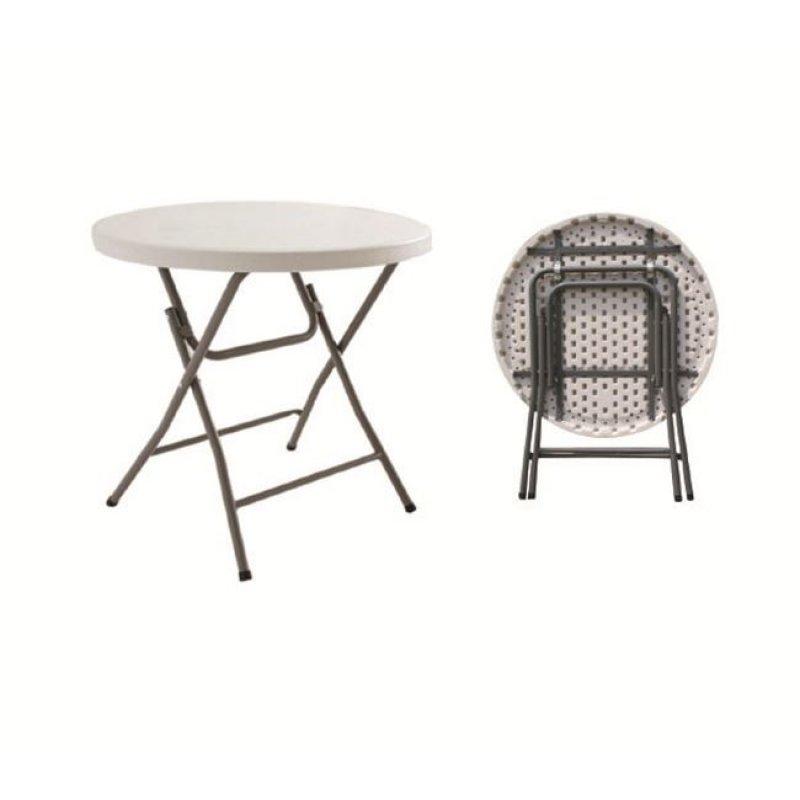 """Τραπέζι συνεδρίου """"BLOW"""" πτυσσόμενο σε λευκό χρώμα 80x74"""