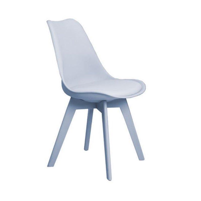 """Καρέκλα """"MARTIN-II"""" pp σε χρώμα γκρι 52x49x82"""