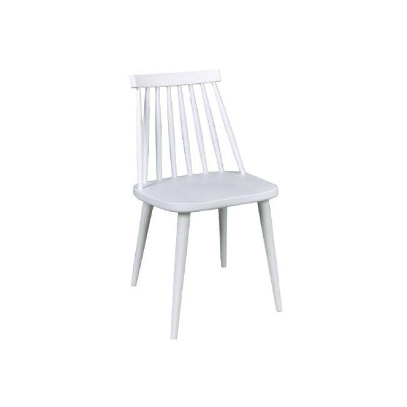 """Καρέκλα """"LAVIDA"""" μεταλλικη-pp σε λευκό χρώμα 43x48x77"""