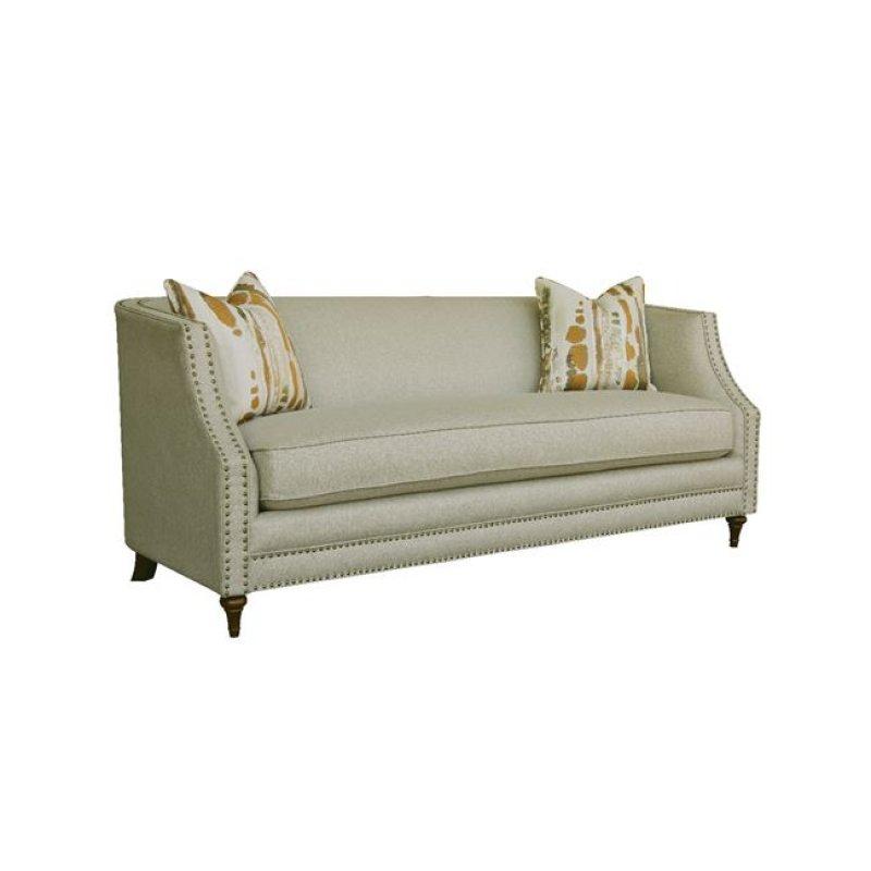 """Καναπές """"MARION"""" διθέσιος υφασμάτινος σε μπεζ χρώμα 154x93x80"""