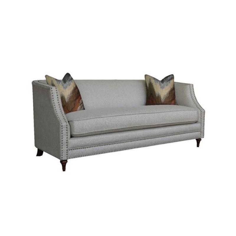 """Καναπές """"MARION"""" διθέσιος υφασμάτινος σε γκρι χρώμα 154x93x80"""