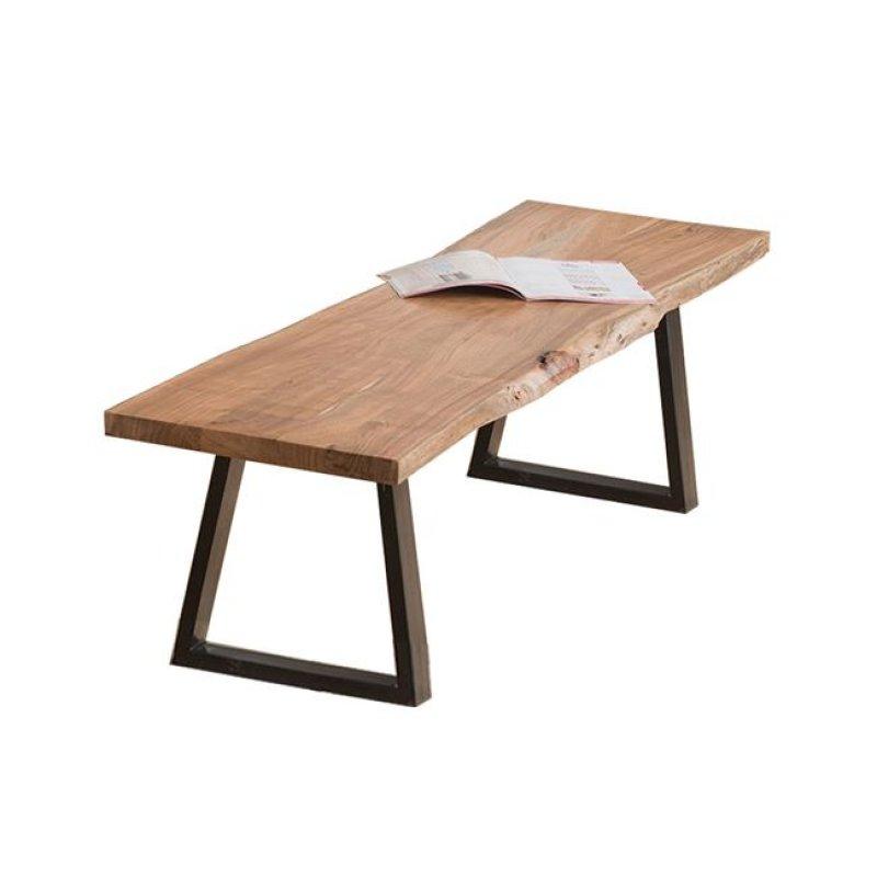 """Πάγκος """"LIZARD"""" ξύλινος-ακακία σε φυσικό χρώμα 178x45x45"""